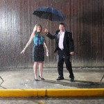 We jumped at the wrong time during the rain shoot
